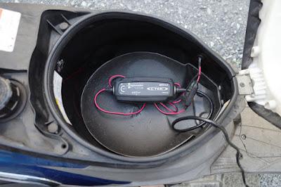 CTEK MUS4.3にてバッテリー充電中⑦