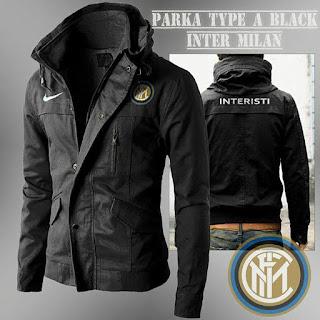 Jaket Parka Inter Milan