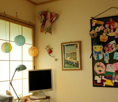 和室かわいい飾り
