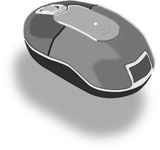 Cord less mouse