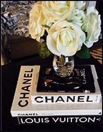 luxe glam coffee table books designer books glam style decor