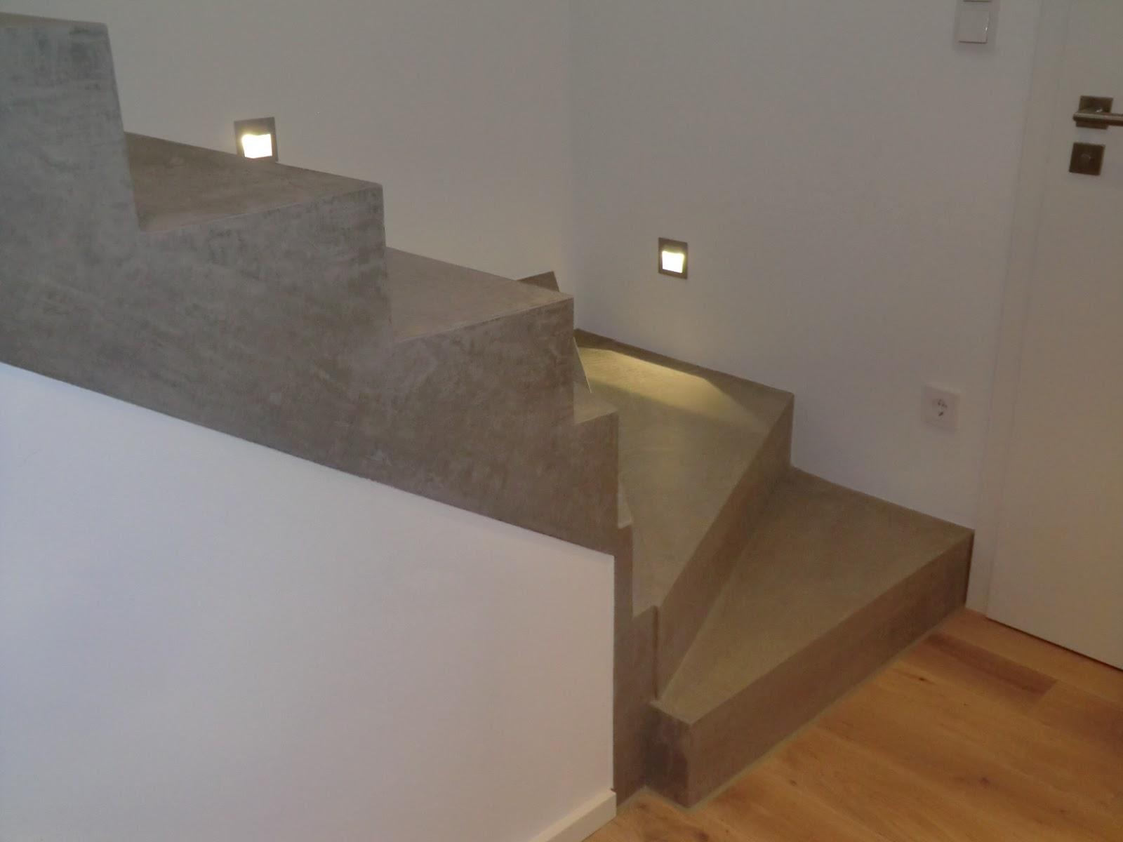 beton cire oberfl chen in beton look und wieder eine treppensanierung mit besserbauen beton cire. Black Bedroom Furniture Sets. Home Design Ideas