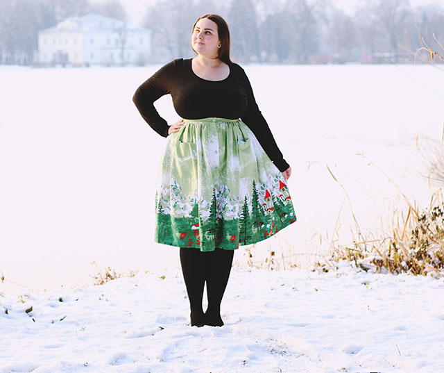 LindyBop skirt plus size