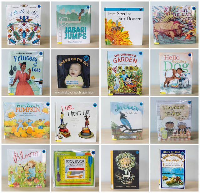 Montessori friendly books for August! These books are on our library shelves for the month!