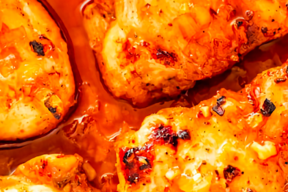 Spicy Honey Garlic Chicken Thighs Recipe