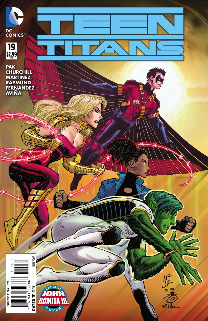 Dc Rebirth Teen Titans