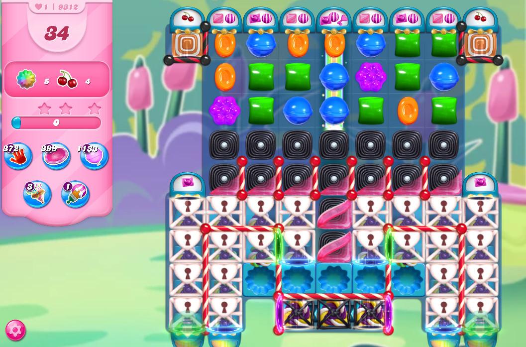 Candy Crush Saga level 9312