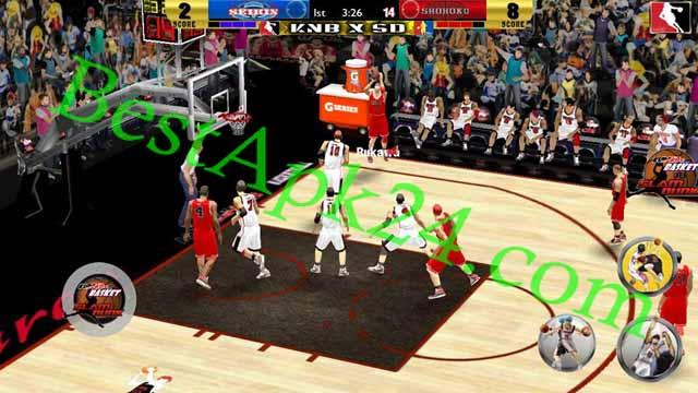 Slamdunk VS Kuroko No Basuke v2.0 Android Game Download For Free Bestapk24 5