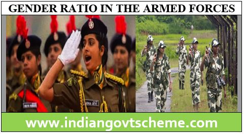 GENDER RATIO IN THE ARMED FORCES