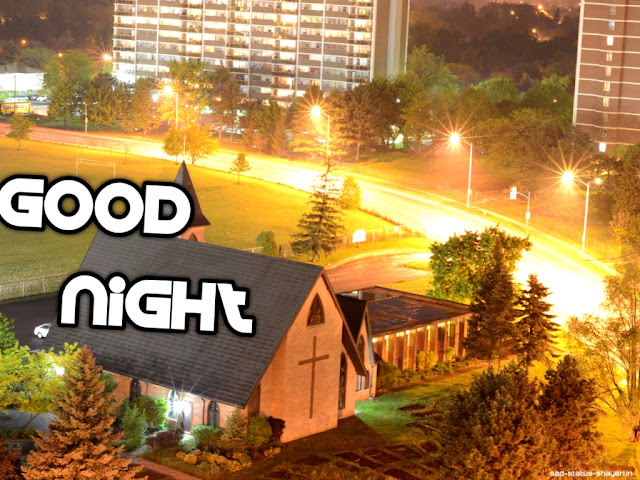 Good night images village