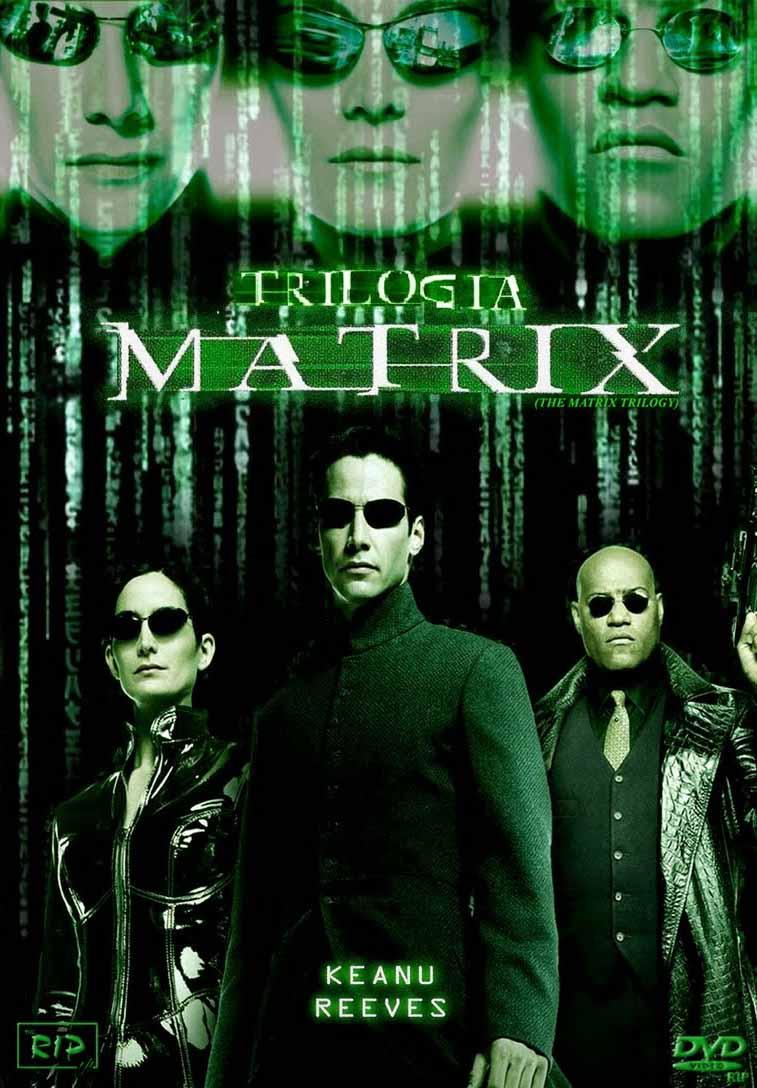 Trilogia Matrix Torrent - BluRay 720p e 1080p Dual Áudio (1999-2003)