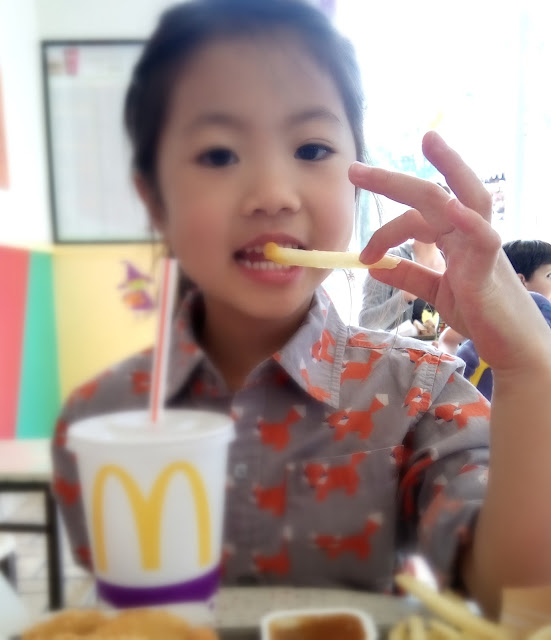 mcdonalds french fry etiquette