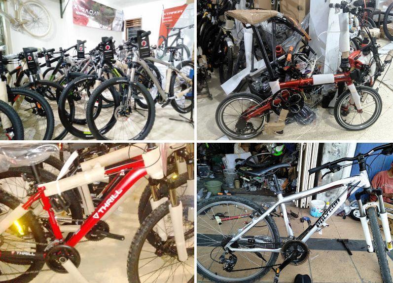 List Alamat Toko Sepeda di Tegal Jawa Tengah