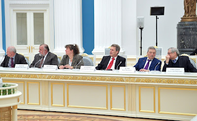 Meeting with members of the Russian Academy of Sciences.
