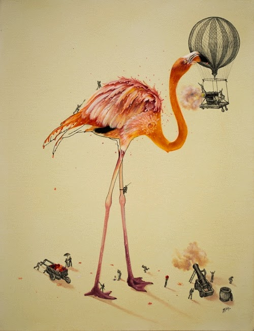 08-Colour-War-Ricardo-Solis-Animal-Paintings-and-their-Back-Story-www-designstack-co