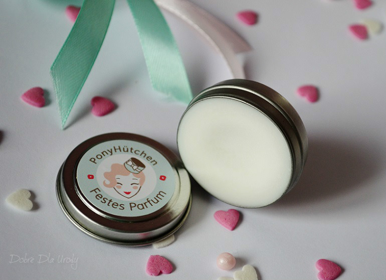 Pony Hütchen Bio  Festes Parfum - perfumy twarde