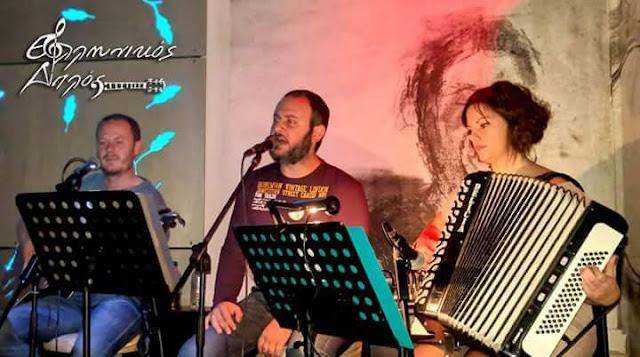 "Live με το συγκρότημα ""Ελληνικός Διπλός"" την Τετάρτη το βράδυ στα Φιλαράκι στο Κουτσοπόδι"