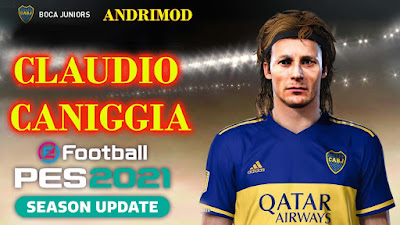 PES 2021 Faces Claudio Caniggia by Andri Mod