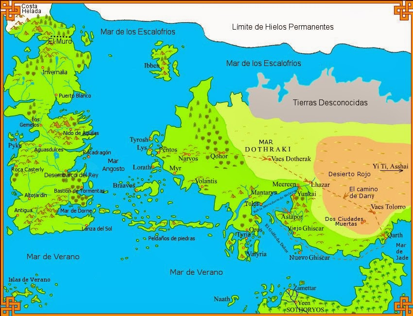 mapa juego de tronos español pdf