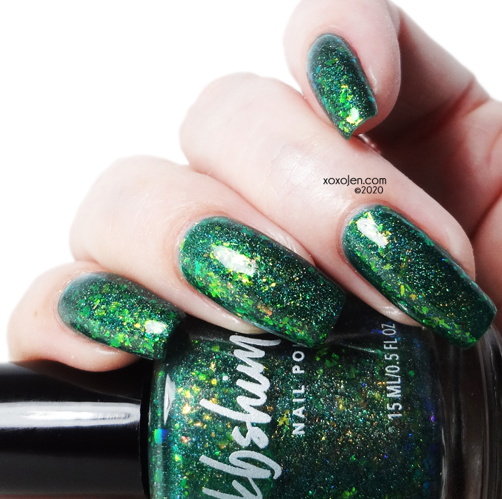 xoxoJen's swatch of KBShimmer How's it Growing?