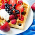 Vanilla And Coconut Waffles