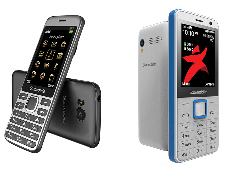 The Starmobile UNO B310 and B311