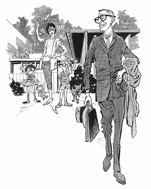 a perfect family by Wallace Wood, for MAD?