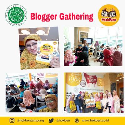 blogger gathering di hokben lampung