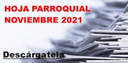 Hoja Parroquial Noviembre 2021