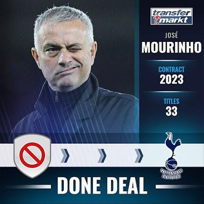 Mourinho and Tottenham