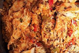 Cajun Instant Pot Chicken and Rice Recipe #instantpot #chicken #chickendinner #chickenrecipe #dinner