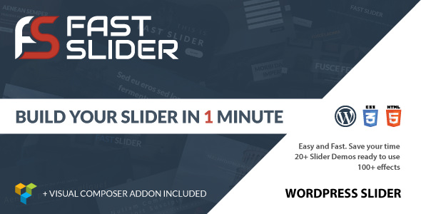 Download Free Fast Slider WordPress Plugin 1.0 – CodeCanyon | Fast Slider v1.0 – Easy and Fast – Slider Plugin for WordPress allows your entire website's visitors to easily share your valued content on any social media you choose. Now easily promoting your online business in social networks is now a best matter of the couple of clicks it takes to automatically install the Social Share Buttons WordPress plugin. And the easy to use shortcode generator provided using the Share Buttons plugin makes it amazingly easy to install. Note: We want to improve our website's performance and usability so that you could really get a great benefit from our website. Just more one thing is that We publish all content only for testing purpose not for commercial use, so if you have money then we strongly recommend you to buy the require plugin/theme etc from original developer's website. Use any theme OR plugin on your own risk!