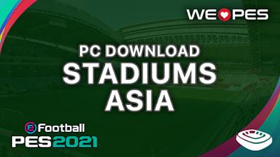 Stadiums PC | Asia | Download | PES 2021