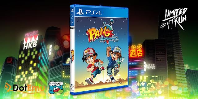 Pang Adventures contará con versión física en PS4