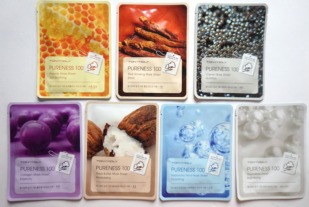 Tony Moly Pureness 100 Sheet Mask Review + Price