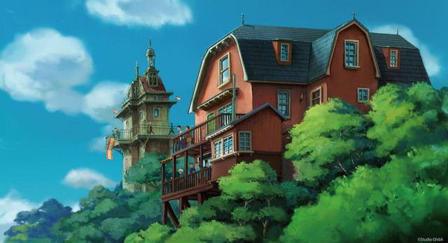 Hayao Miyazaki & Toshio Suzuki Membuat Logo Desain  Untuk Ghibli Theme Park