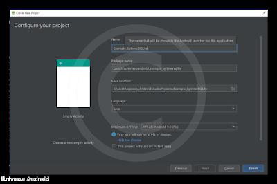 Como crear un Spinner utilizando SQLite Database en Android Studio