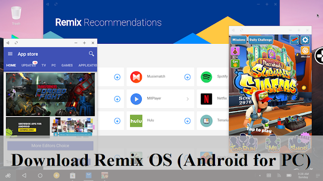 Download Remix OS for PC: With installation Tool B2016080802