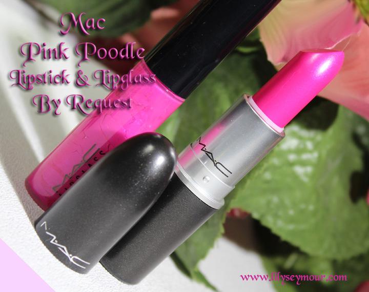 Mac Pink poodle Lipstick & Lipglass