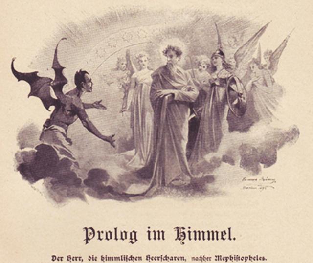 Prólogo no Céu - Prolog im Himmel.