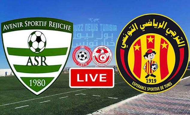 Match AS Rejiche vs ES Tunis - Taraji Live Stream