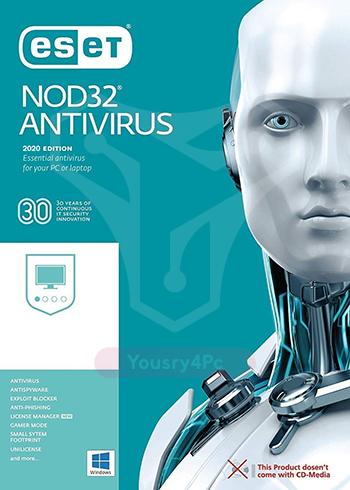 تحميل برنامج نود 32 انتى فيرس ESET NOD32 Antivirus 2020 مع التفعيل مدى الحياة - Yousry4pc