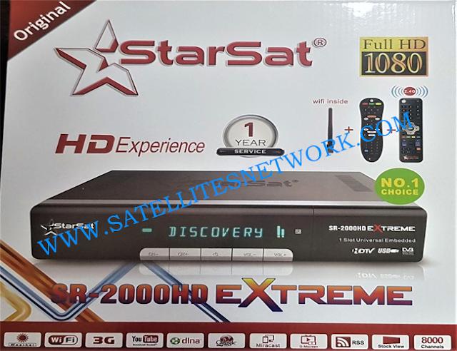 STARSAT SR-2000HD EXTREME ALL SOFTWARE VERSION DOWNLOAD