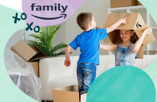 احصل على اشتراك Amazon Family لمدة 30 يوم مجانا