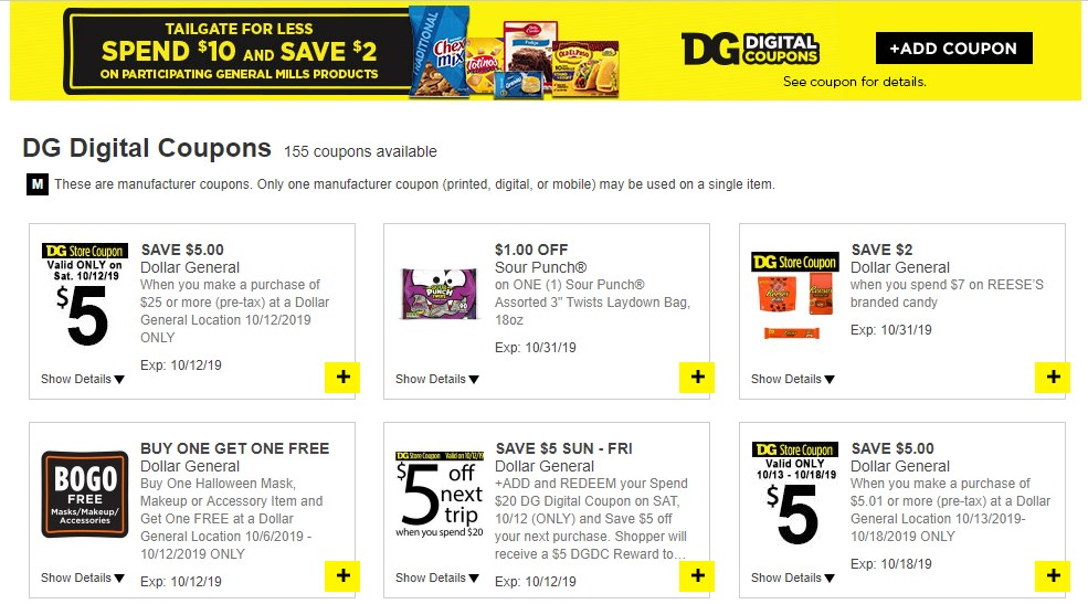 Using The Digital Dollar General Coupons