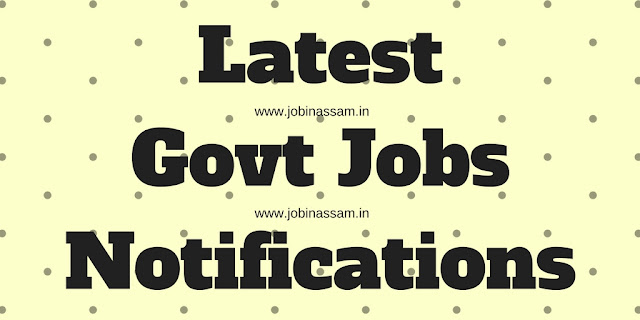 Govt jobs in Assam