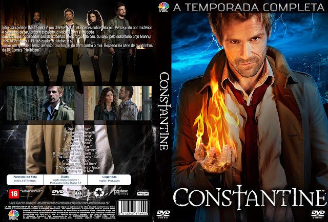 Capa Constantine A Temporada Completa
