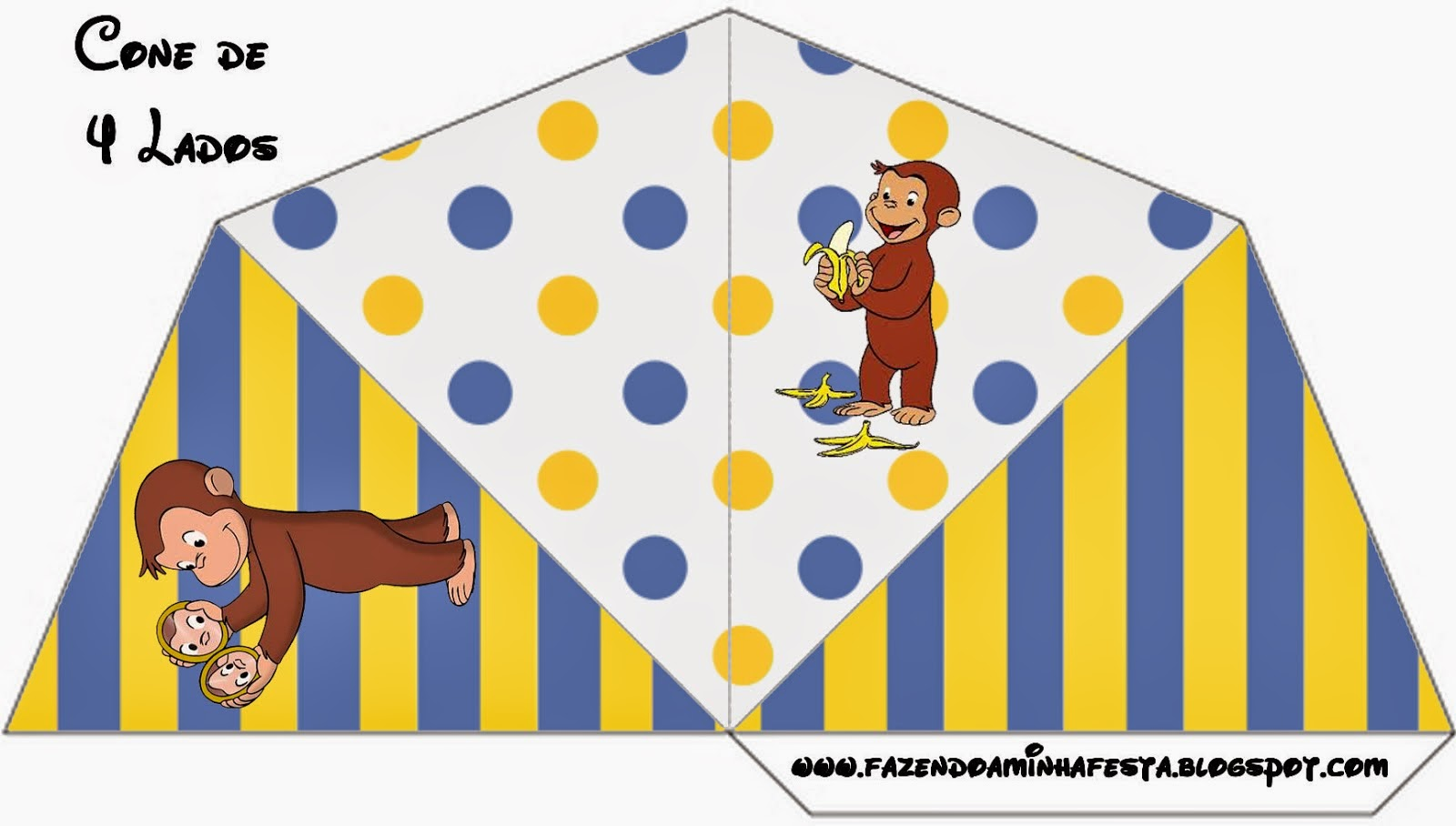 Curious George Free Party Printables