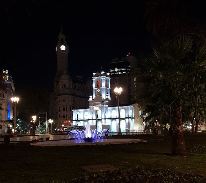 Buenos Aires in de nacht