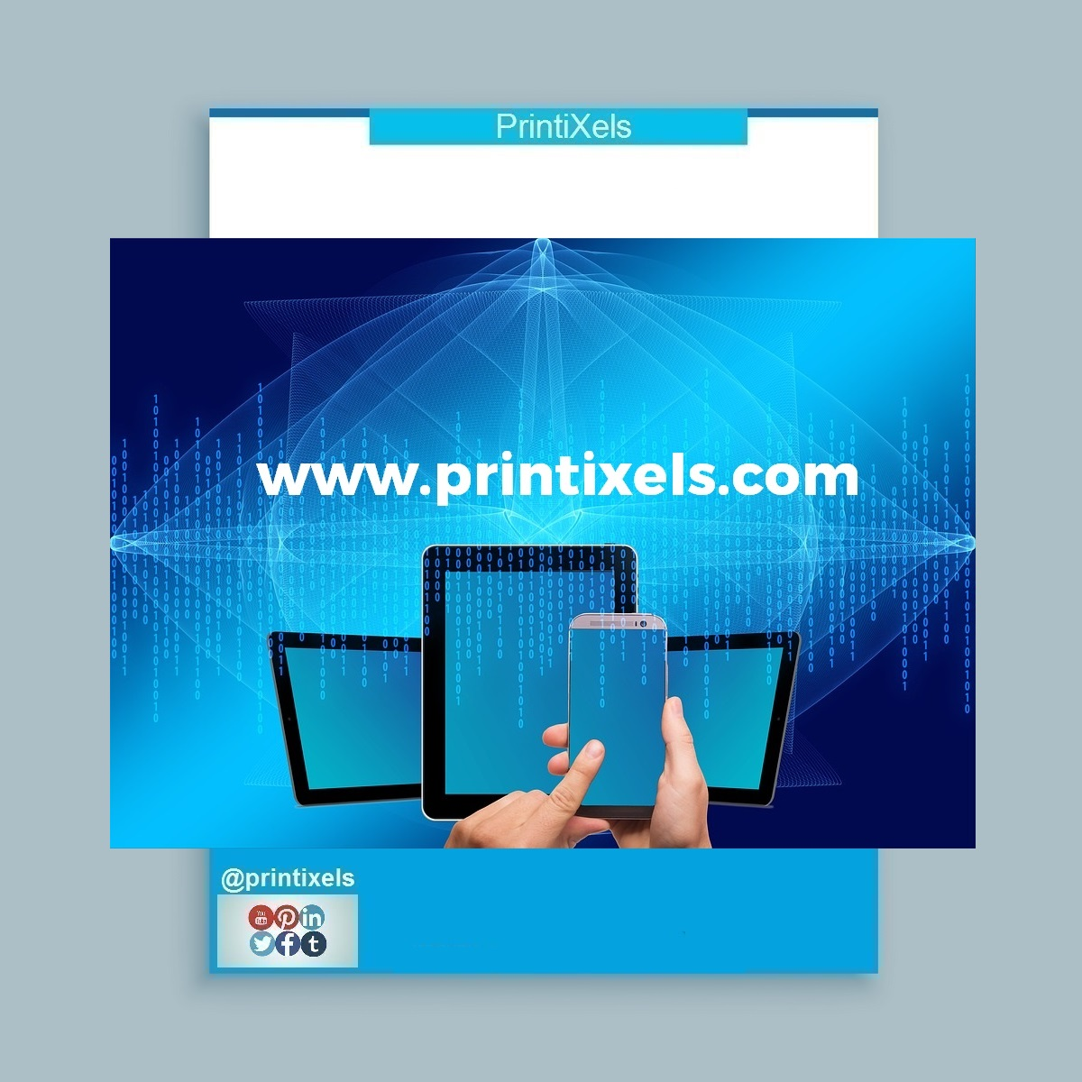 PrintiXels Announces New Website Launch